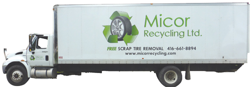 micor recycling truck